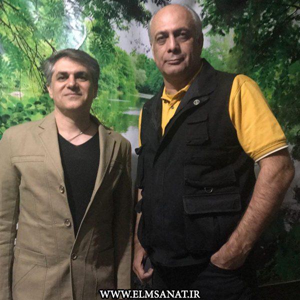حمیدرضا صدیقی حضور بهمن دان در شرکت علم وصنعت حضور بهمن دان بازیگر سینما در شرکت علم و صنعت bahmandan elmsanat 2 600x600