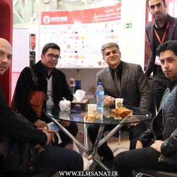 حمیدرضا صدیقی نمایشگاه iransse2016 علم و صنعت نمایشگاه حفاظت الکترونیک IRANSSE2016 hamidreza sedighi iransse 2016 350x350