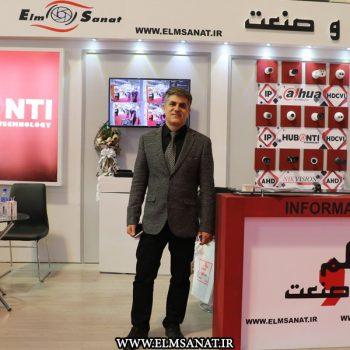 حمیدرضا صدیقی نمایشگاه iransse2016 علم و صنعت نمایشگاه حفاظت الکترونیک IRANSSE2016 hamidreza sedighi iransse 2016 4 350x350