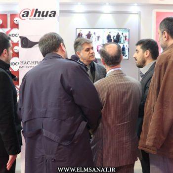 حمیدرضا صدیقی نمایشگاه iransse2016 علم و صنعت نمایشگاه حفاظت الکترونیک IRANSSE2016 hamidreza sedighi iransse 2016 5 350x350