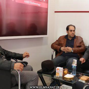 حمیدرضا صدیقی نمایشگاه iransse2016 علم و صنعت نمایشگاه حفاظت الکترونیک IRANSSE2016 hamidreza sedighi iransse 2016 6 350x350