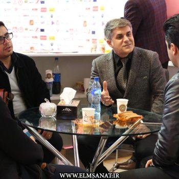 حمیدرضا صدیقی نمایشگاه iransse2016 علم و صنعت نمایشگاه حفاظت الکترونیک IRANSSE2016 hamidreza sedighi iransse 350x350