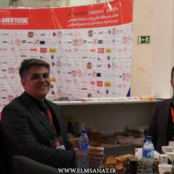 حمیدرضا صدیقی نمایشگاه iransse2016 علم و صنعت نمایشگاه حفاظت الکترونیک IRANSSE2016 hamidreza sedighi iransse2016 3 350x350
