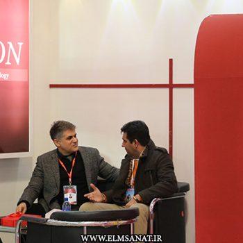 حمیدرضا صدیقی نمایشگاه iransse2016 علم و صنعت نمایشگاه حفاظت الکترونیک IRANSSE2016 hamidreza sedighi iransse2016 350x350